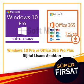 Windows 10 Pro Office 365 Lisans