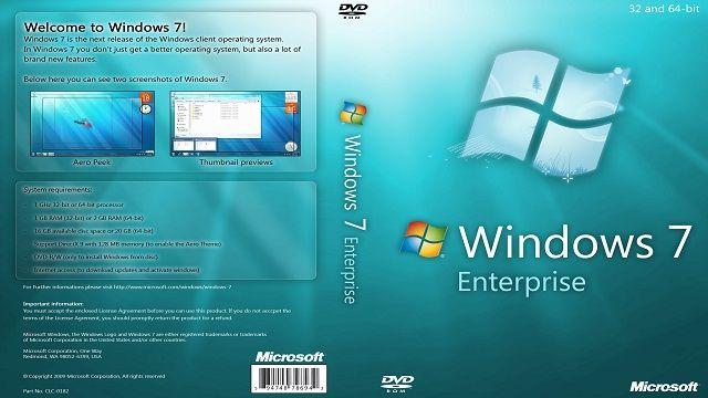 Windows 7 Enterprise Satın Al
